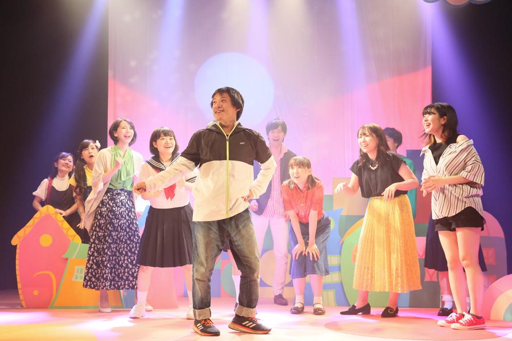 「パプリカ」を踊る藤尾