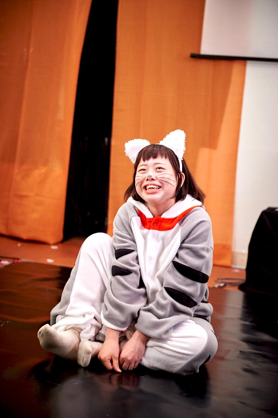 短編演劇見本市B「携帯できる冒険」の猫ちゃん