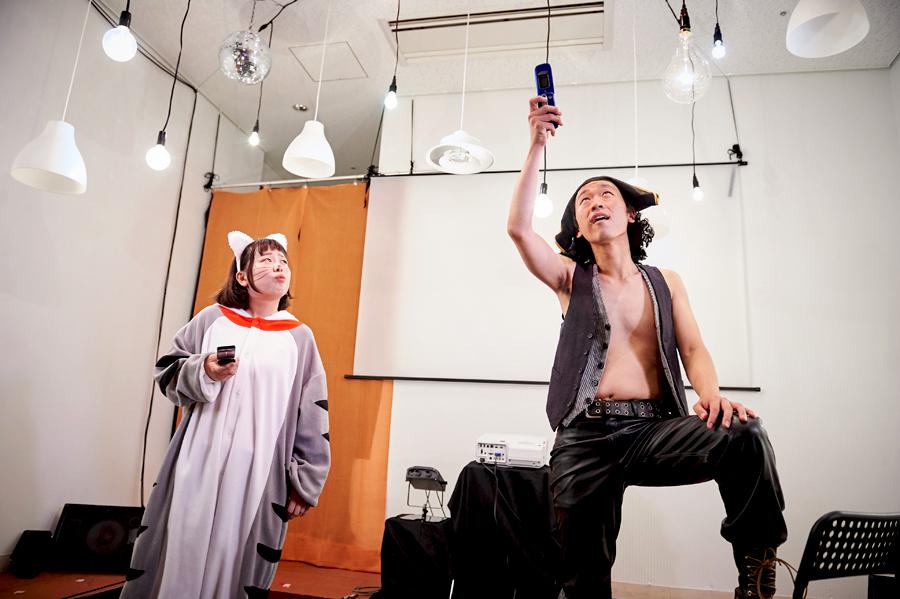 短編演劇見本市B「携帯できる冒険」