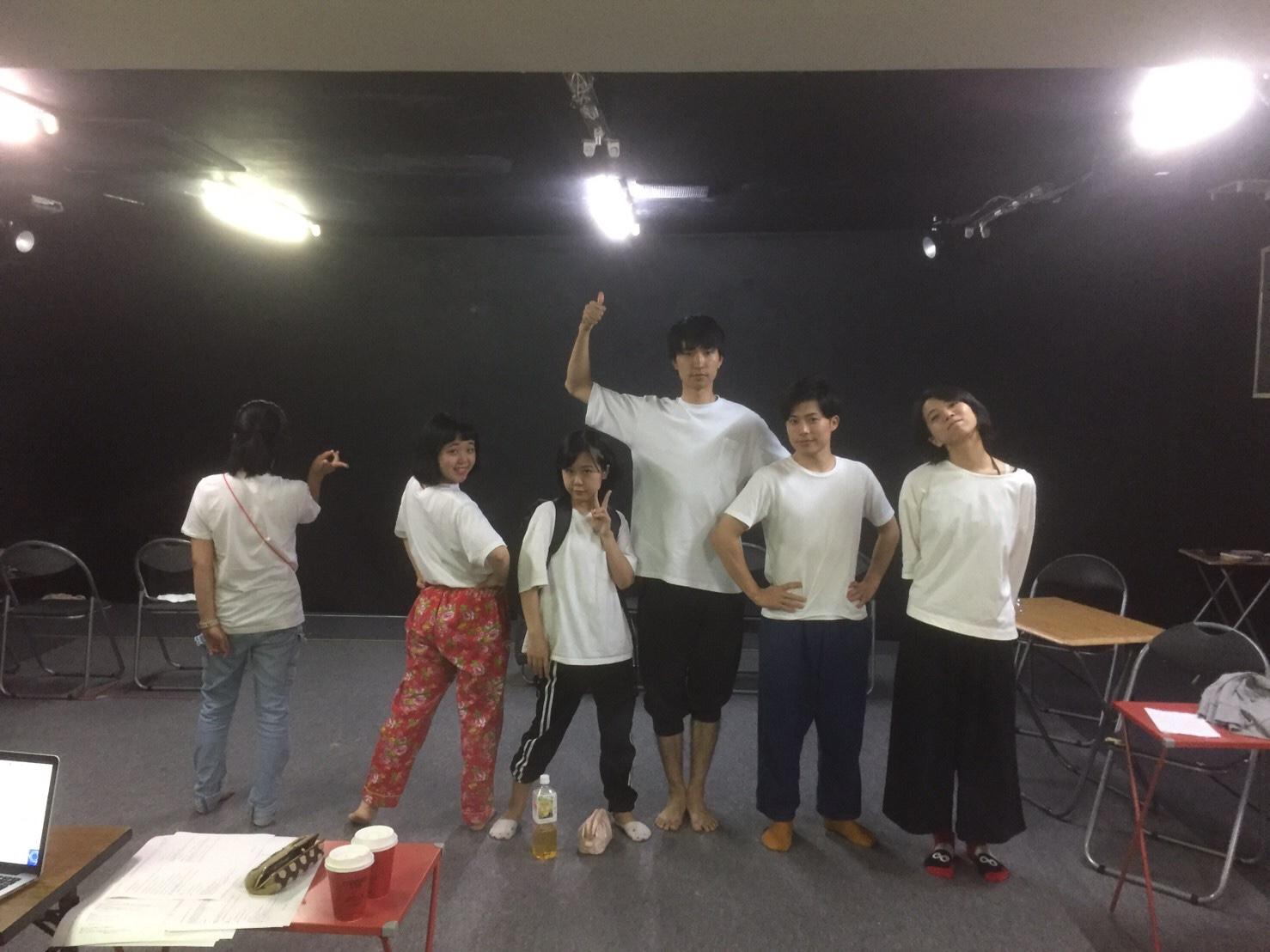 【大森翔吾】白い役者達【暴力先輩稽古場日誌52】