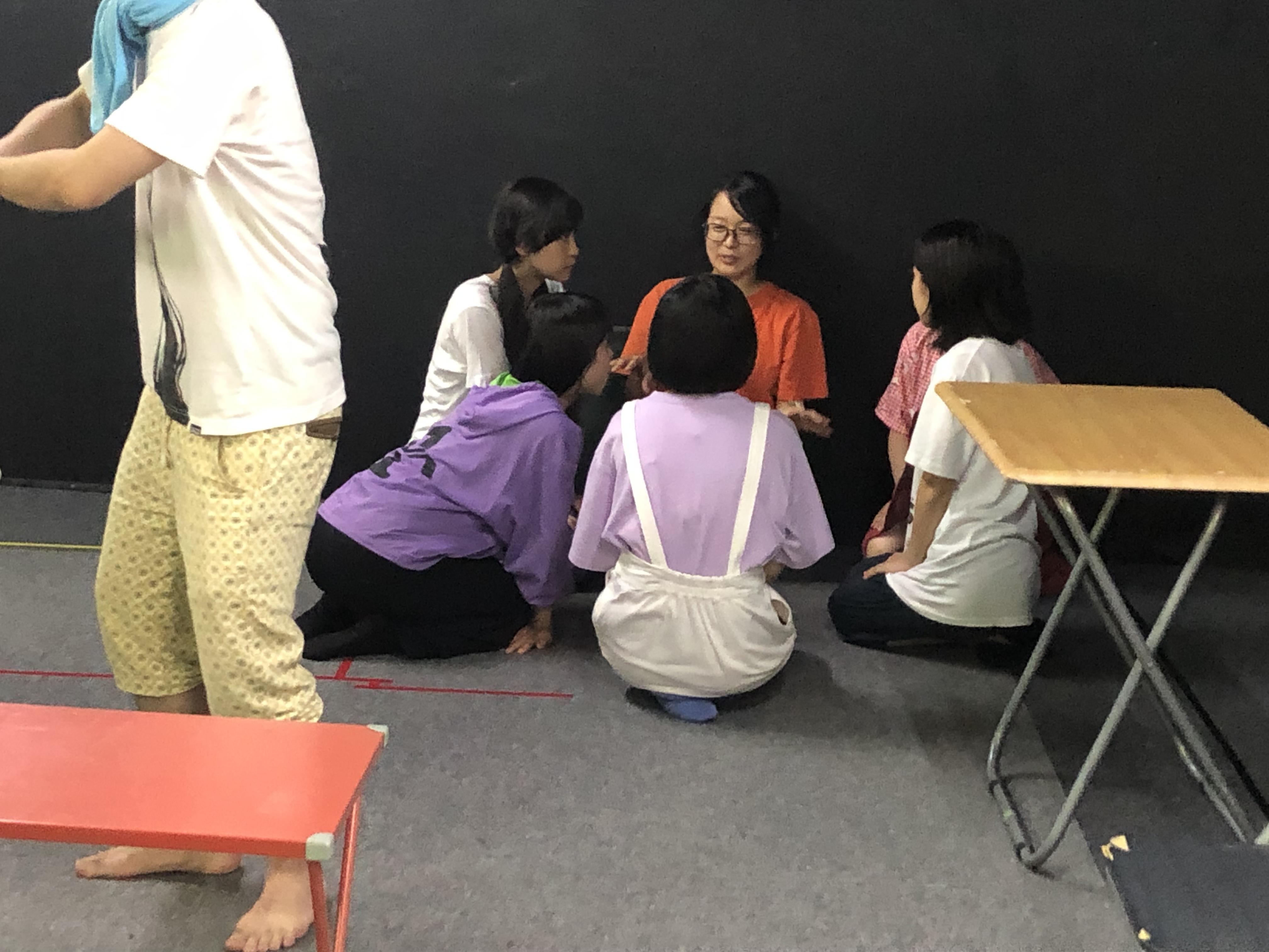 【東京ドム子】生活班とレオン【暴力先輩 稽古場日誌53】